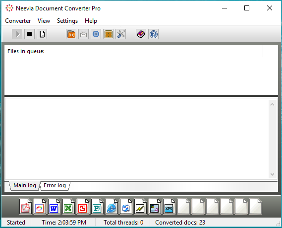 Neevia Document Converter Pro user manual